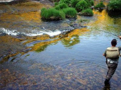 Pêche en rivière d'Ardèche